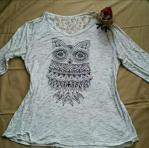 OWL Women's 2XL Faded Glory w/ lace back